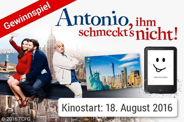 """Gewinnspiel zum Film """"Antonio, ihm schmeckt's nicht"""""""