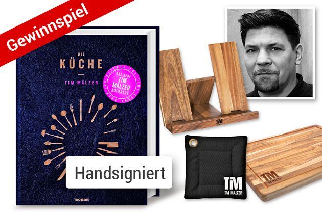 Tolle Preise rund um TV-Koch Tim Mälzer zu gewinnen!