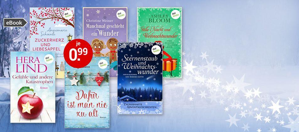 Weihnachtliche eBooks für 0.99 €