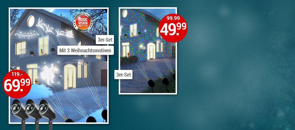 Wundervoller Lichterzauber: Beleuchtet Hauswände, Balkone und Innenräume