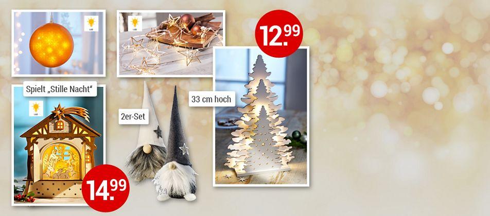 Zauberhafte Deko für eine wunderschöne Weihnachtszeit