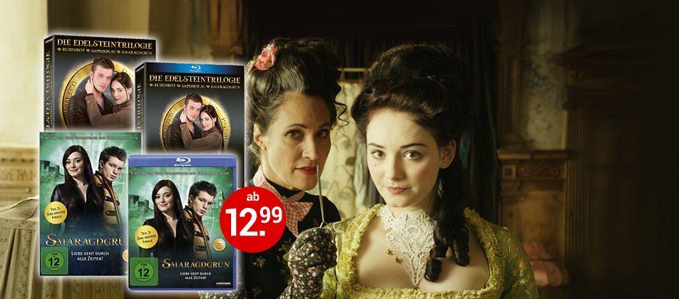 Smaragdgrün auf DVD, Blu-ray und als Edelstein Trilogie!