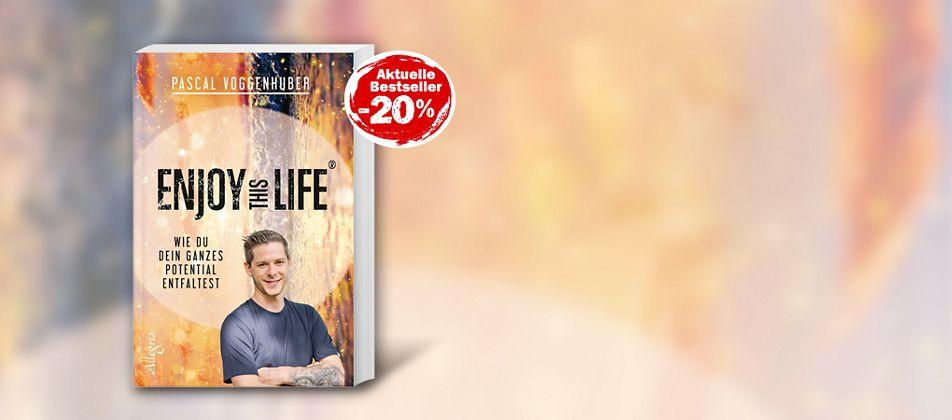 Pascal Voggenhuber-Enjoy this Life-Buch