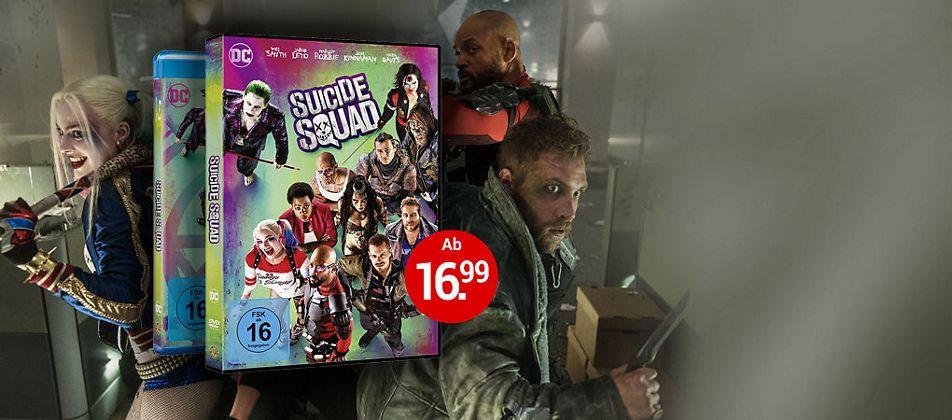 Suicide Squad auf DVD & Blu-ray jetzt bestellen!