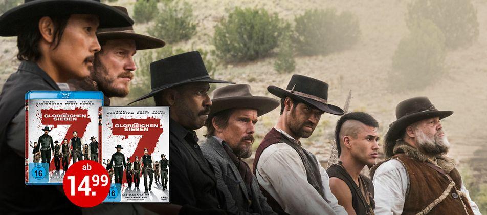 Die glorreichen Sieben auf DVD & Blu-ray jetzt kaufen!