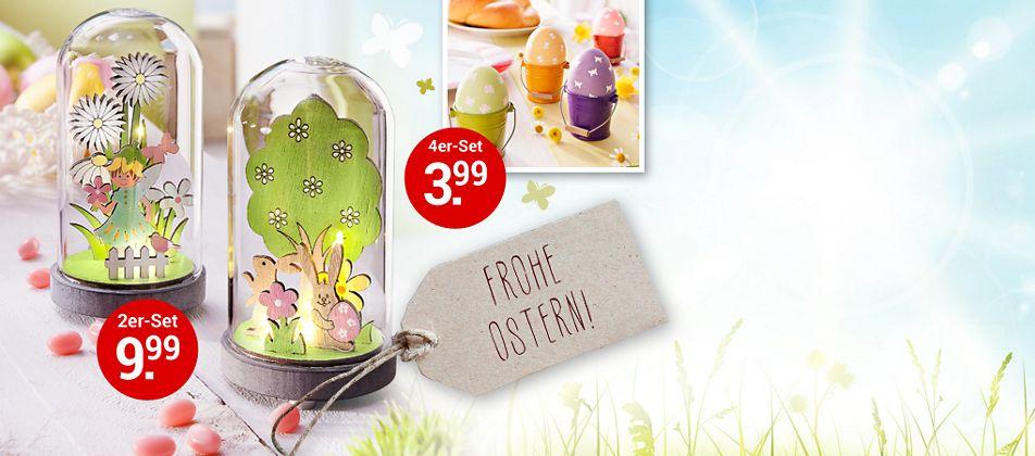 Stimmen Sie sich auf Ostern ein - mit Frühlingsdeko & Geschenkideen