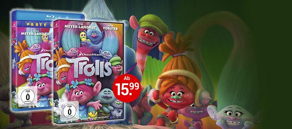 Trolls auf DVD & Blu-ray jetzt auf weltbild.at bestellen!