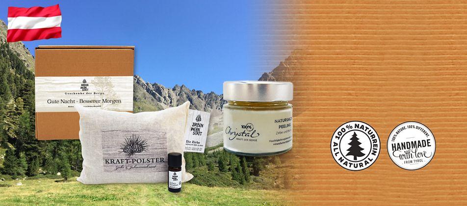 Jetzt NEU! Alpine Naturprodukte aus Österreich
