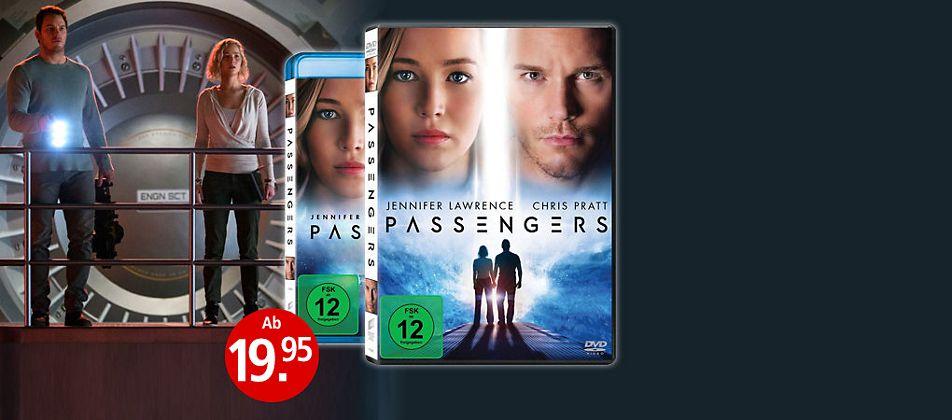 Passengers mit Jennifer Lawrence