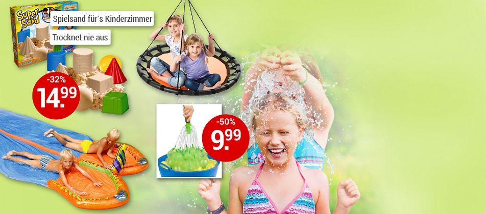 Entdecken Sie jetzt alles für den großen Garten-Spielspaß!
