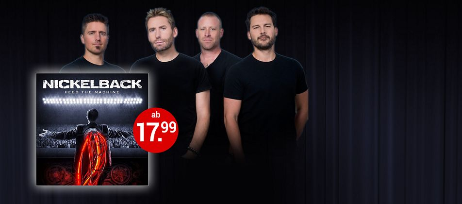 Nickelback - Feed The Machine CD hier kaufen