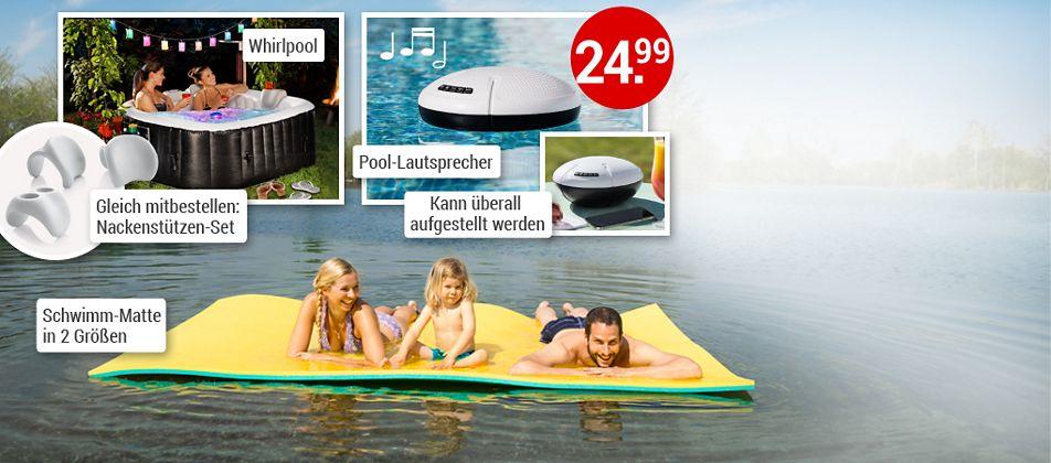 Coole Trends für Sommer, Sonne, Wasserspaß