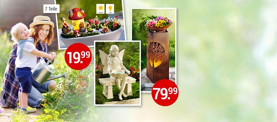 Gartendekoration für den Sommer: Hier finden Sie tolle Ideen für Ihre Outdoor-Oase