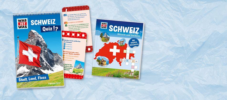 Wer kennt die Schweiz am besten? Riesenspass für unterwegs!
