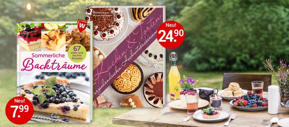 Frische & verführerische Rezepte zum Backen - perfekt für den Sommer