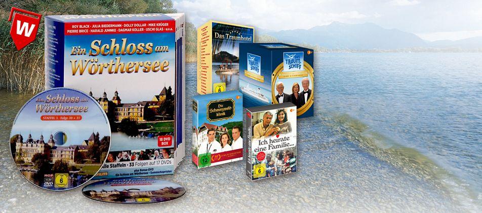 DVD Boxen legendärer TV-Serien