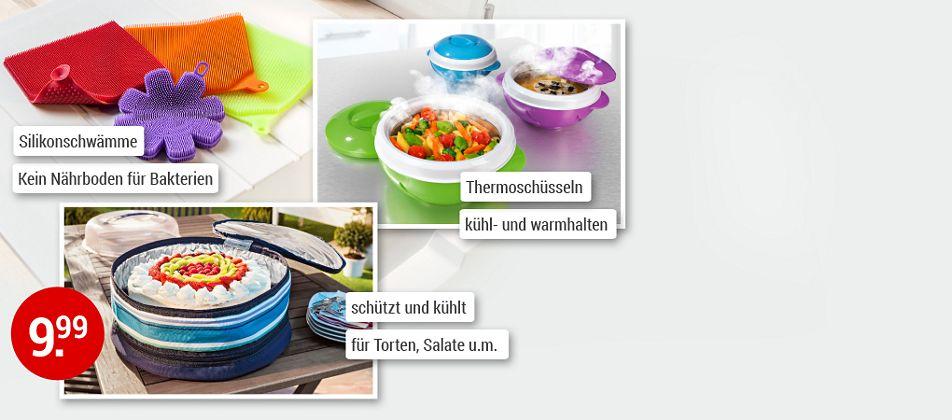 Praktisches für die Sommerküche