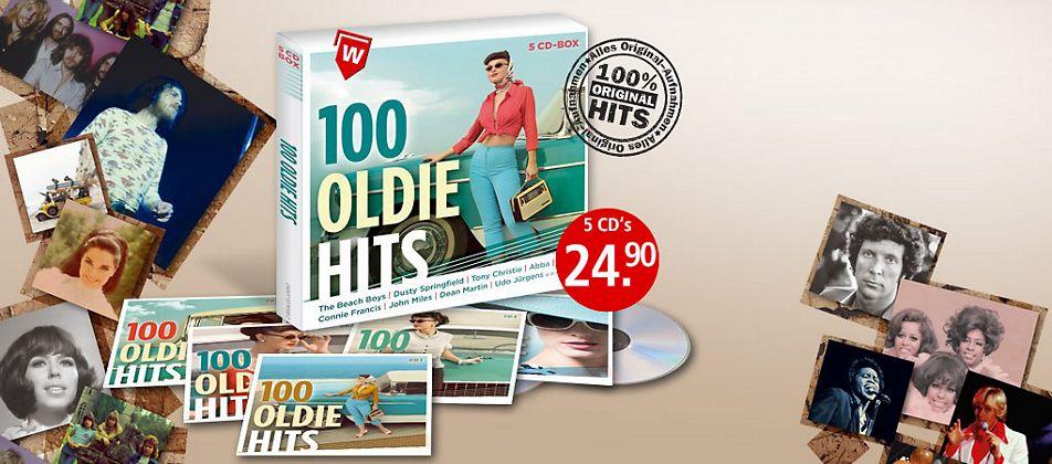 100 Oldie Hits (Exklusive 5CD-Box)