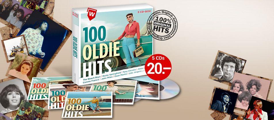 100 Oldie Hits CD bei Weltbild kaufen