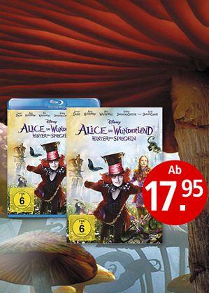Alice kehrt ins Wunderland zurück