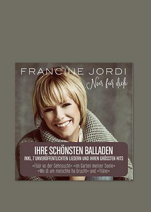 Das neue Album von Francine Jordi