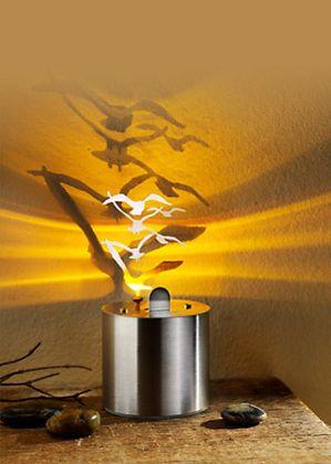 """Die ganz besondere Lichtdekoration - LED Schattenprojektor """"Möwen"""""""