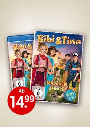 Bibi & Tina 3: Mädchen gegen Jungs auf DVD & Blu-ray
