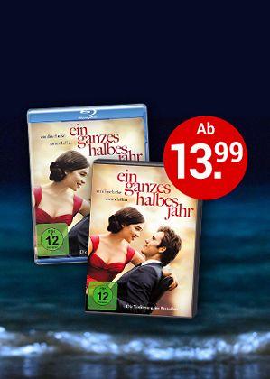 Ein ganzes halbes Jahr auf DVD & Blu-ray - Jetzt bestellen!