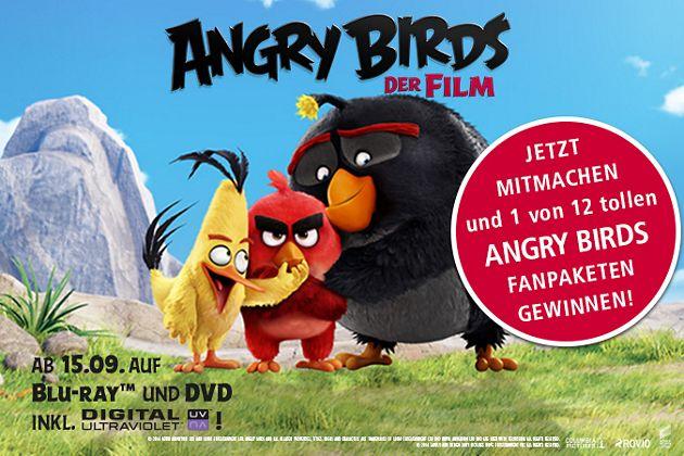 """""""Angry Birds - Der Film"""" Gewinnspiel"""