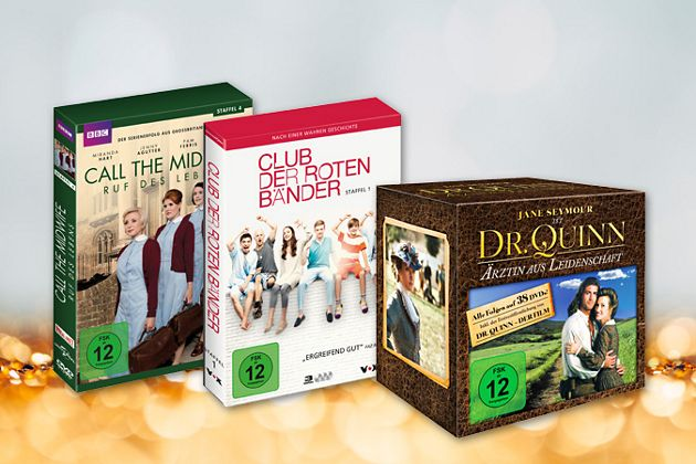 Die schönsten Serien und Filme jetzt als DVD-Box