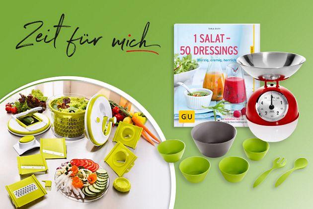 Zubehör für die Salat-Zubereitung