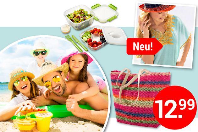 Ab an den Strand! Alles für Ihren perfekten Strandtag - jetzt entdecken!
