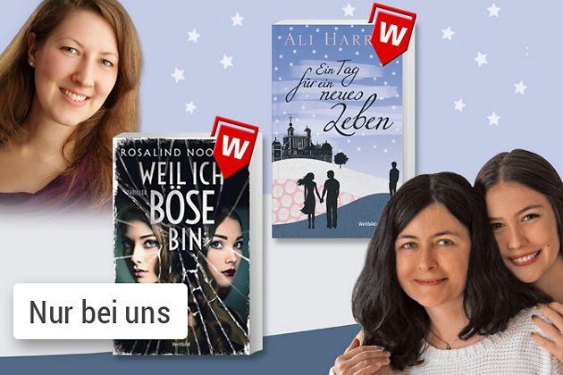 Unsere Buchtipps des Monats: Audrey Carlan, Calendar Girl und Martina Sahler, Weiter Himmel, wilder Fluss