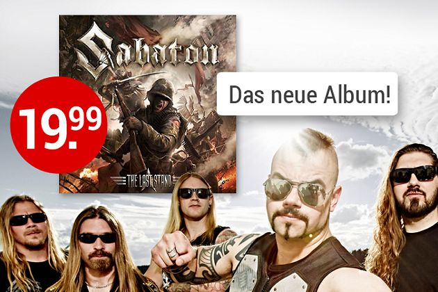 Sabaton - The Last Stand CD hier kaufen
