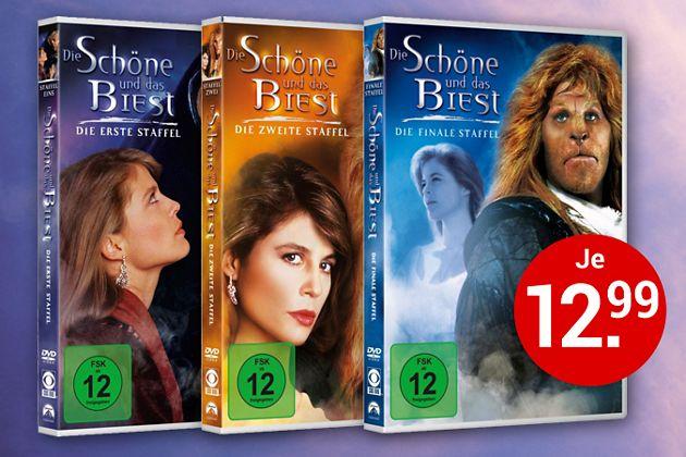 Die Schöne und das Biest - Alle 3 Staffeln auf DVD