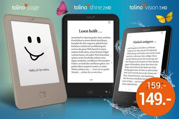 eReader tolino page
