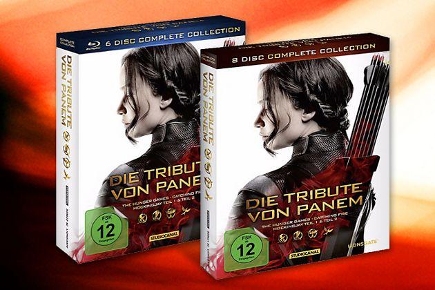 Tribute von Panem Komplettbox DVD & Blu-ray