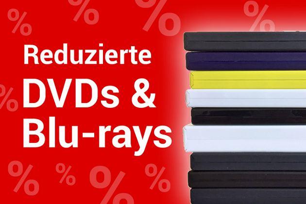 Reduzierte DVDs & Blu-rays