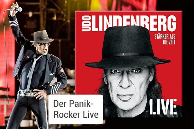 Udo Lindenberg - Stärker als die Zeit LIVE CD hier kaufen