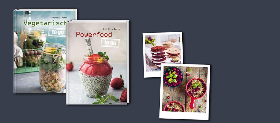 Die neue to go-Reihe: Powerfood für unterwegs!