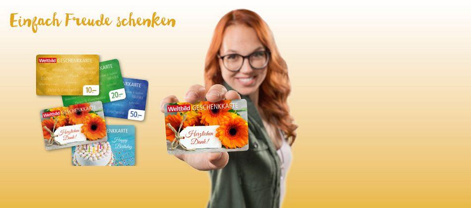 Vom 20.-22.10. & nur in Ihrer Filiale - 10% auf Geschenkkarten