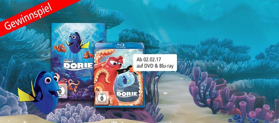 """Grosses """"Findet Dorie"""" Gewinnspiel - Jetzt mitmachen und tolle Preise gewinnen!"""