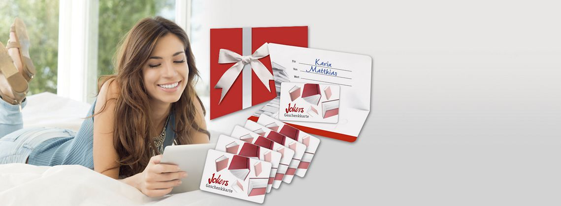 Newsletter abonnieren und Geschenkkarten gewinnen