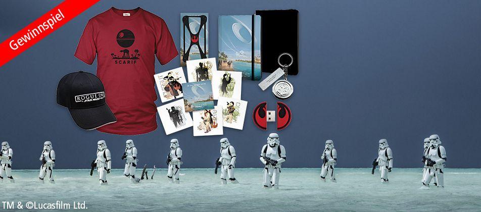 5 Grosse Star Wars Fan-Pakete zu gewinnen!