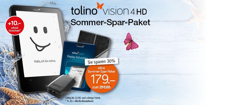 Tolino Sommer-Spar-Paket