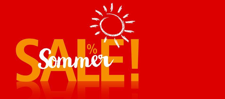 Auf die Schnäppchen, fertig, los - grosser Sommer-Sale!