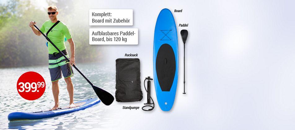 SUP  - der Wassersport-Trend 2016
