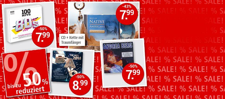 SALE - Musik-Schnäppchen bis zu 56% sichern!