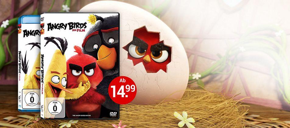 Angry Birds - Der Film auf DVD & Blu-ray - jetzt bestellen!