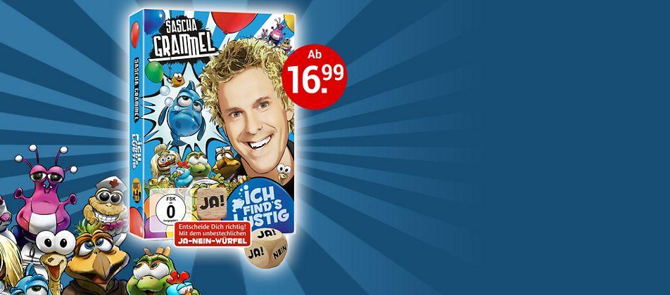 Sascha Grammel: Das neue Programm auf DVD & Blu-ray